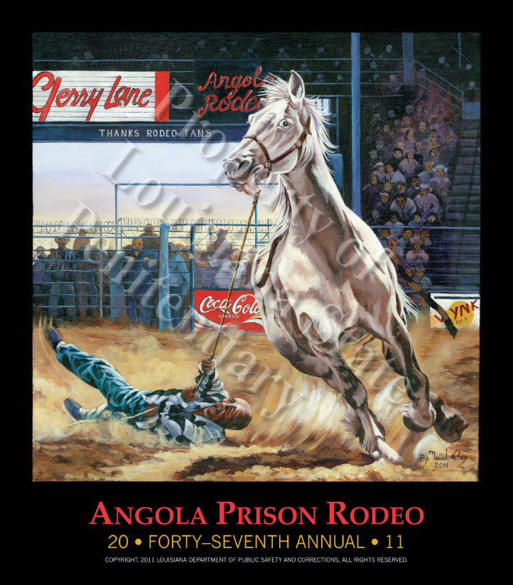 Angola Rodeo poster